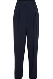 Fendi Stretch-piqué tapered pants