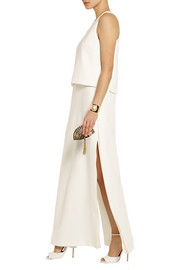 Fendi Silk-cady gown