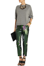 Marni Jacquard tapered pants