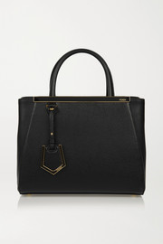 Fendi 2Jours small textured-leather shopper