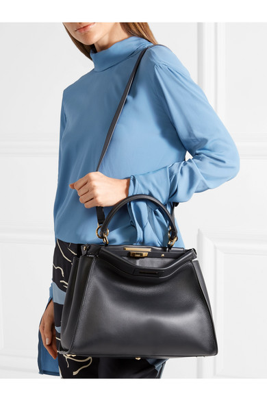 227b2cf9 Fendi | Peekaboo medium leather tote | NET-A-PORTER.COM