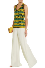 M Missoni Stretch-crepe wide-leg pants