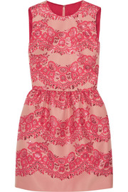 Brocade mini dress