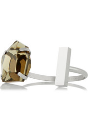 By Malene Birger Laurine stainless steel and resin cuff