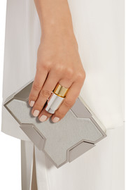 Maison Martin Margiela Gold and silver-plated ring