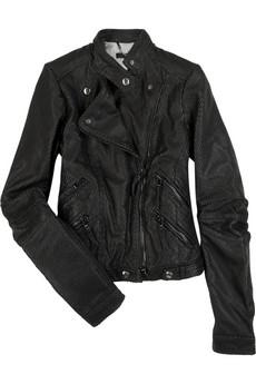 DacuteKiodo Vipera leather jacket