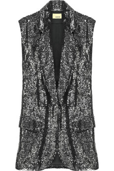 Ashish | Sequined sleeveless blazer | NET-A-PORTER.COM from net-a-porter.com