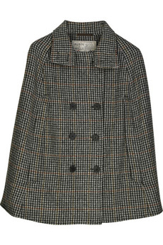 Aubin & Wills | Bankfield wool cape | NET-A-PORTER.COM from netaporter.com