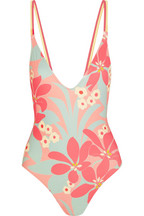 + LHD printed swimsuit