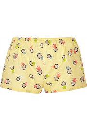 + LHD printed cotton shorts