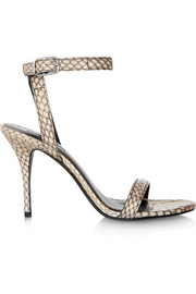 Alexander Wang Antonia elaphe sandals