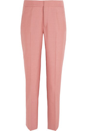 Jil Sander Wool-blend twill straight-leg pants
