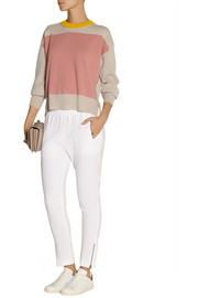 Jil Sander Color-block cashmere sweater