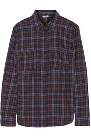 Hayes plaid cotton shirt