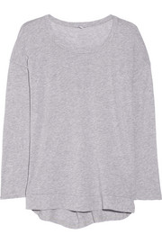 Supima cotton and modal-blend jersey top