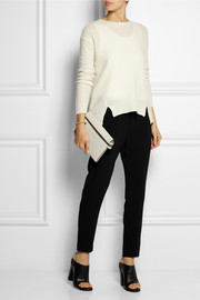 Stella McCartney Tamara stretch-cady straight-leg pants