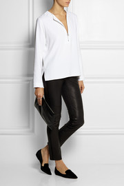 Arlesa stretch-crepe top
