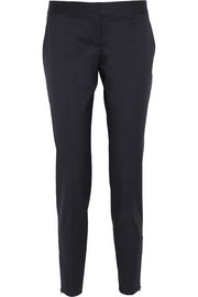 Vivian wool-gabardine tapered pants