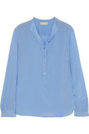Stella McCartney Eve silk crepe de chine blouse