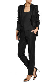 Stella McCartney Melissa satin-trimmed wool tuxedo jacket
