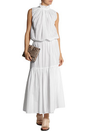 Stella McCartney Callista striped cotton maxi dress