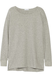 Cotton-terry sweatshirt