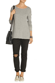 James Perse Cotton-terry sweatshirt