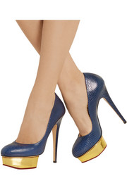 Charlotte Olympia Dolly karung pumps