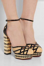 Charlotte Olympia Ay Caramba! leather pumps