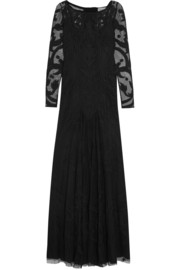 Temperley London Francine embroidered tulle gown