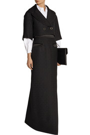Temperley London Marino cropped matelassé jacket