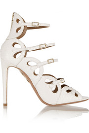 Aquazzura J'Adore elaphe sandals