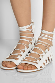 Aquazzura Amazon leather sandals