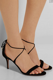 Aquazzura Linda suede sandals