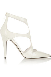 Tamara Mellon Fever cutout patent-leather pumps