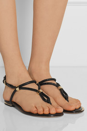 Michael Kors Hartley braided leather sandals