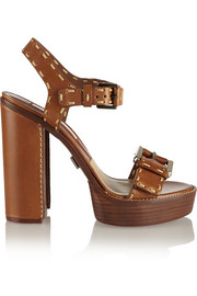 Janey leather platform sandals