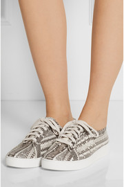 Michael Kors Valin elaphe sneakers