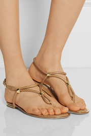 Michael Kors Hartley elaphe flat sandals