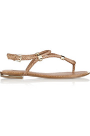 Hartley elaphe flat sandals