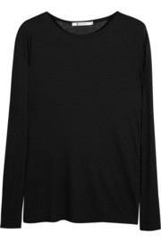 T by Alexander Wang Stretch-jersey top