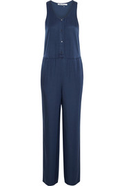 T by Alexander Wang Satin-jersey jumpsuit