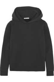 T by Alexander Wang Vintage cotton-blend hooded top
