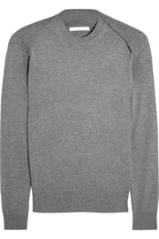 Alexander Wang Silk and cashmere-blend sweater