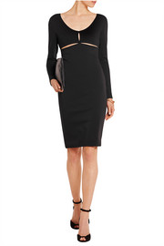 Alexander Wang Cutout stretch-jersey mini dress