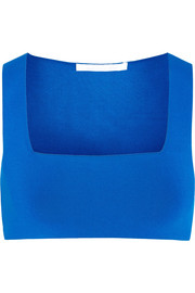 Alexander Wang Stretch-knit bra top