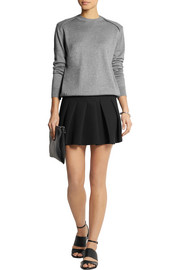 Alexander Wang Pleated crepe mini skirt