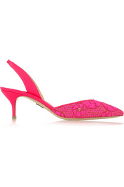 Paul Andrew Rhea brocade pumps