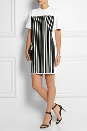 Alexander Wang Printed stretch-jersey crepe mini dress