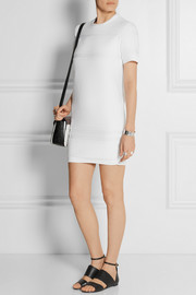 Alexander Wang Cotton-terry mini dress